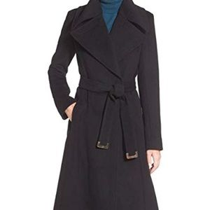 DVF Wool Blend Nikki Wrap Jacket